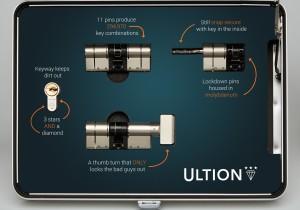 Inside the Ultion case
